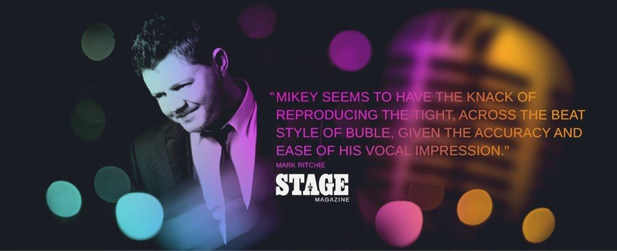best michael buble tribute show